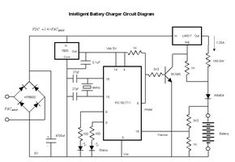 6v  12v  24v battery charger circuit with automatic cut