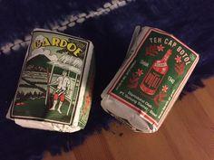 Here's two beautiful tea packaging from Indonesia.   via @designarkib