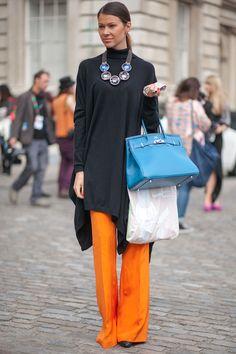 London Street Style | Fashion Week'12 #LFW #streetstyle #LondonFashionWeek