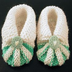 We Like Knitting: Baby Shoes - Free Pattern