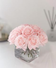Light Pink Flowers, Fake Flowers, Exotic Flowers, Beautiful Flowers, Pink Light, Flowers Garden, Pink Flower Arrangements, Artificial Flower Arrangements, Pink Centerpieces