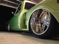 Would you look at that lip on this clean c10