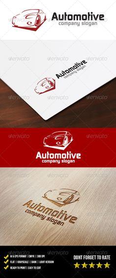 Automotive Logo - graphicriver sale