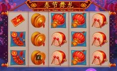 You can play Dancing Dragon Spring Festival Slots with NO deposit and NO downloading of any software is required!
