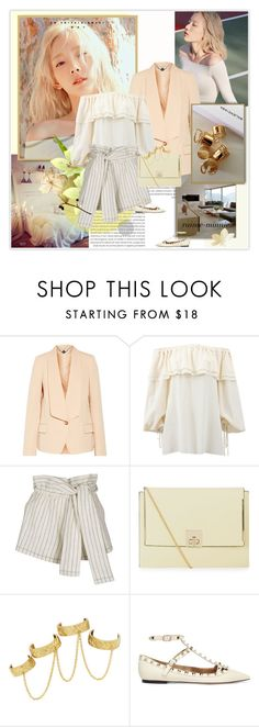 """Starlight"" by rainie-minnie ❤ liked on Polyvore featuring Oris, STELLA McCARTNEY, Michael Kors, 3.1 Phillip Lim, New Look, House of Harlow 1960 and Valentino"