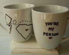 long distance relationship youre my person mug best friend moving away miss you white state to state coffee cup