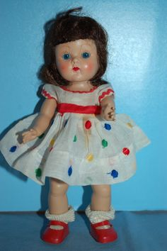 1950s Strung GINNY by Vogue in Tagged Dress -