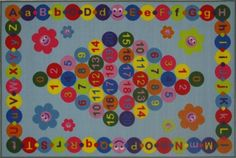 Fun Rugs FT97 5178 Fun Time Happy Learning -- Read more reviews of the product by visiting the link on the image.