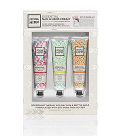 Jenna Hipp Nail & Hand Cream Branding & Packaging