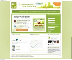 FlexAlert.org Launches New Website Designed by Earthsite.  If you live in CA...sign up for Flex Alerts and help save energy!  http://earthsite.net/blog/company-news/item/flexalertdotorg-launches-new-website-designed-by-earthsite#