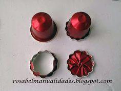 Rosabel manualidades: Collar con cápsulas de Nepresso
