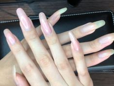 Long Natural Nails, Long Nails, God, Handmade, Beautiful, Gel Nail, Nail Manicure, Dios, Hand Made