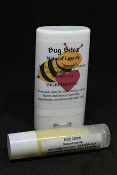 Bug Bitez is a must for everyone suffering from bug bites, most commonly mosquitos! A simple dab from the balm stick directly to the bite stops the itch and starts the healing. Works best if applied immediately after bite. Contains shea butter, cocoa butter, emu oil, beeswax, Melaleuca, Peppermint, Lemon and Lavender essential oils. Wellness Activities, Wellness Tips, Health And Wellness, Cocoa Butter, Shea Butter, Emu Oil, Melaleuca, Diffuser Blends, Peppermint