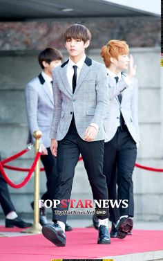 [Picture/Media] BTS at 4th Gaon Chart KPOP AWARDS (Red Carpet) [150128] | btsdiary