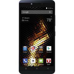 Unlocked BLU - Vivo XL 4G LTE with 16GB Memory Cell Phone - Midnight Blue, 2-BLU-V0030UU-BLU-01