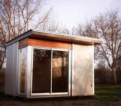 Modern Spaces & Sheds Prefab shell, Local? 120 sq ft