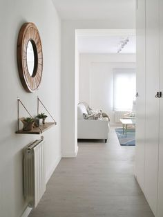 Kitchen Ideas Small Hallways 60 Ideas For 2019 Home Renovation, Home Remodeling, Wall Decals For Bedroom, Cheap Houses, Small Hallways, Hallway Decorating, Window Coverings, New Furniture, Decoration