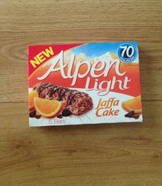 Alpen Light Jaffa Cake Bar