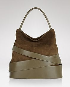 Z Spoke Zac Posen Hobo - Veronica Banded Suede - New Designers - New Arrivals - Boutiques - Handbags - Bloomingdale's