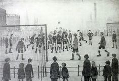 View The Football Match by L. Lowry on artnet. Browse upcoming and past auction lots by L. Football Match, Football Art, Funny Paintings, London Art, Global Art, Art Market, Lovers Art, Art For Sale, Original Artwork