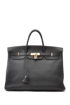 Vintage Hermes Leather Birkin 40 Handbag on HauteLook