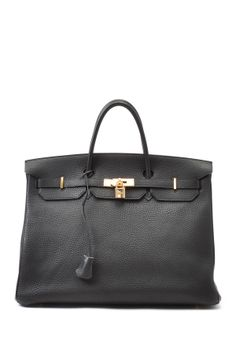 Vintage Hermes Leather Birkin 40 Handbag on HauteLook