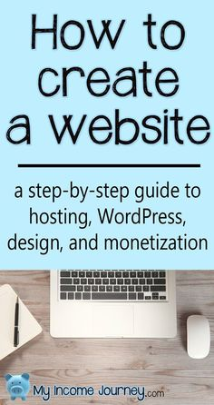 How to create a website. A step-by-step guide to hosting WordPress design and - How To Make A Website - Ideas of How To Make A Website - How to create a website. A step-by-step guide to hosting WordPress design and monetization. Start A Website, How To Start A Blog, How To Create Website, Website Design Inspiration, Wordpress, Business Website, Online Business, Make Money Blogging, How To Make Money