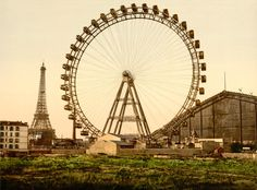 La Grande Roue de Paris, 1900, by 20x200 Artist Fund | 20x200