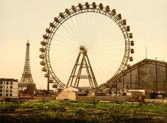 La Grande Roue de Paris, 1900, by 20x200 Artist Fund | 20x200
