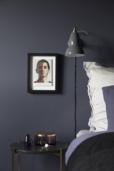 Chambre masculine sobre - Clem Around The Corner Bedroom Color Schemes, Bedroom Colors, Bedroom Decor, Modern Interior, Interior Design, Design Blog, Awesome Bedrooms, Luxurious Bedrooms, Lounge