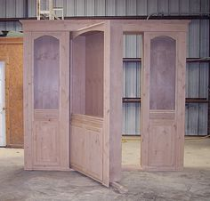if only I could find a neat place to put it. shed… Hidden door construction. if only I could find a neat place to put it. Hidden Spaces, Hidden Rooms, Hidden Gun Cabinets, Porch Windows, Bookcase Door, House Ideas, Secret Rooms, Hidden Storage, Stairway