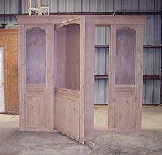 Hidden door construction
