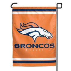 Denver Broncos 11x15 Garden Flag