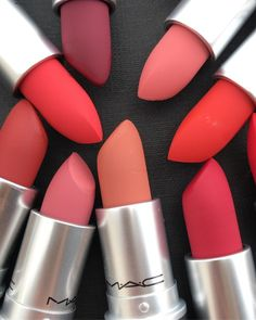 MAC Cosmetics Teased a Powder Kiss Lipstick That Feels Like Lip Balm - top_make_up_pintennium Mac Makeup, Smokey Eye Makeup, Makeup Lipstick, Makeup Cosmetics, Beauty Makeup, Matte Lipstick, Mac Cosmetics Lipstick, Powder Lipstick, Maybelline Makeup
