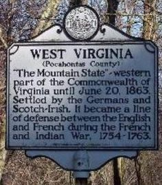 Pocahontas County, West Virginia.  My family was German and Scotch-Irish, very fitting.