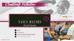 Nancy Hylton: SPIO, Cascades And The Art of Pediatric Physical Therapy Pediatric Physical Therapy, Physical Therapist, Occupational Therapy, Neuroplasticity, Pediatrics, Clinic, Helpful Hints, Physics, Insight