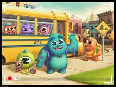 monsters elementary by ~lilibz