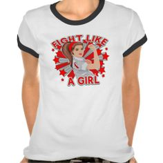 Aplastic Anemia Modern Rosie Fight Shirts  by fightlikeagirlgiftshop.com  #fightlikeagirl #aplasticanemia #aplasticanemiaawareness