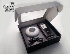 Set Parlante Shower + Daily Perfume Axe en Packaging