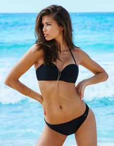 Black Bikini Elsie. Discover and shop the latest women fashion, celebrity, street style, outfit ideas you love on www.zkkoo.com