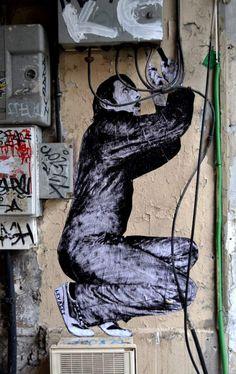 Interactieve posters in Parijs