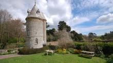 The garden and exterior of The Water Tower, Trelissick, Cornwall  © Mike Henton