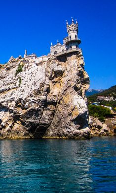 #Swallow's Nest#travel#sea# Wall Spaces, Russian Art, Swallow, Sale Items, Nest, Swallows, Barn Swallow