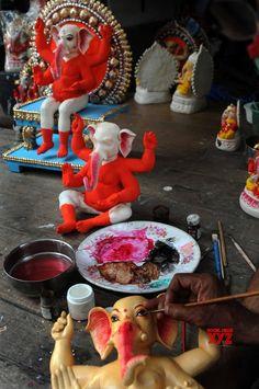 Kali Goddess, Lord Ganesha, Kolkata, Celebrations, Workshop, Idol, Happy Birthday, Gallery, Artist