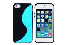 S-Line Type PU+TPU Flexible TPU Rubber Protector Cases for iPhone 5s & iPhone 5 | Lagoo Tech