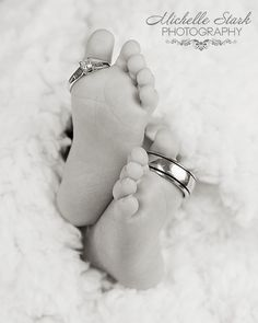 Newborn Baby Feet Photography