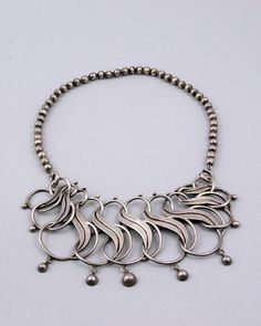 Necklace | William Spratling.  Sterling silver.  ca. 1930s