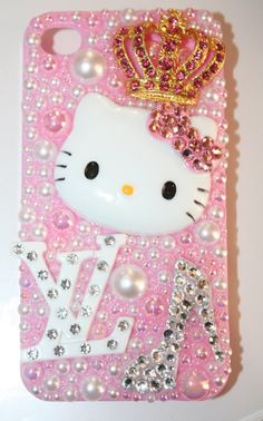 Swarovski Hello Kitty Queen by slave2beauty on Etsy, $75.00