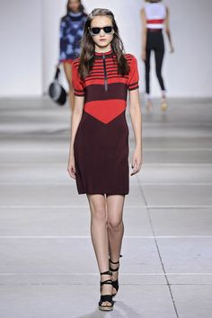 Topshop Unique Spring 2015                  Source: Getty / Catwalking