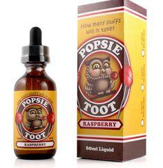 Raspberry - Popsie Toot E Liquid #vape #vaping #eliquid